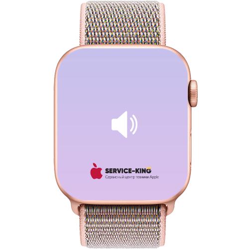 Apple Watch 4 - Замена динамика
