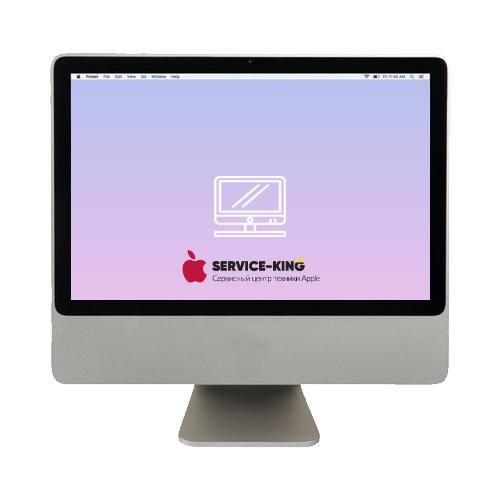 iMac 20 - Замена экрана