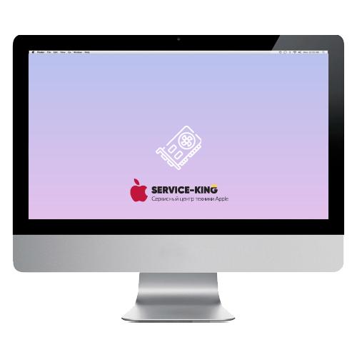 iMac 21.5 a1311 - Замена видеокарты