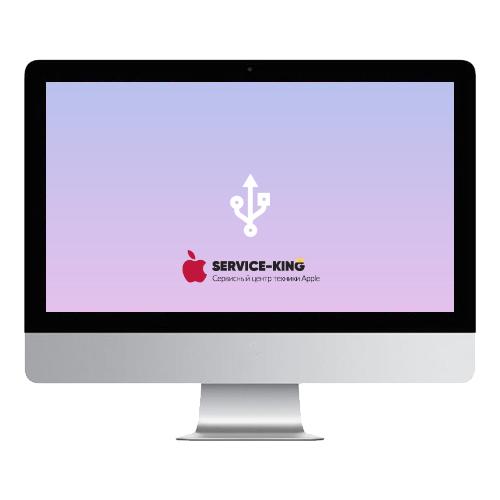 iMac 21.5 a1418 - Замена разъемов