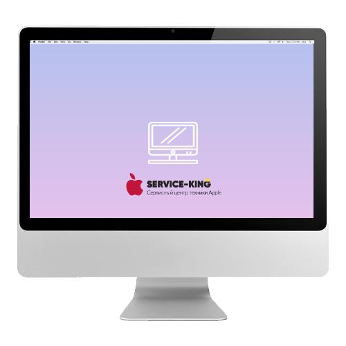 iMac 24 - Замена экрана