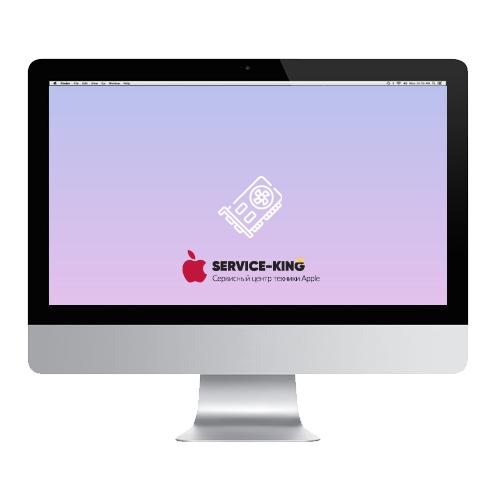 iMac 27 a1312 - Замена видеокарты