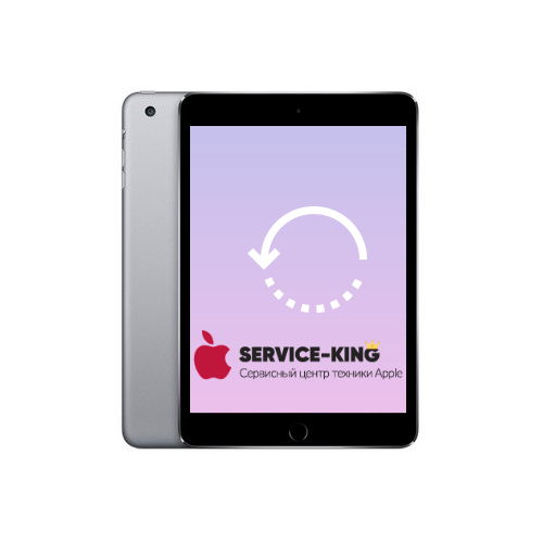 iPad mini 3 - Восстановление данных