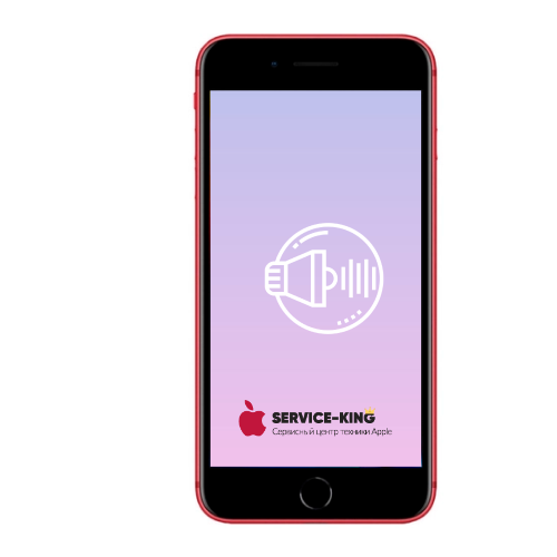 iPhone 8 plus - Замена полифонического (нижнего) динамика