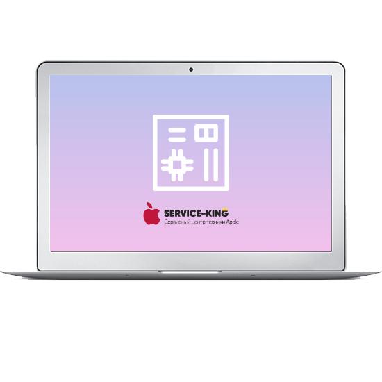 MacBook Air 11 - Замена материнской платы
