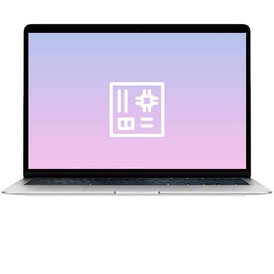 MacBook Air 13 - Ремонт материнской платы