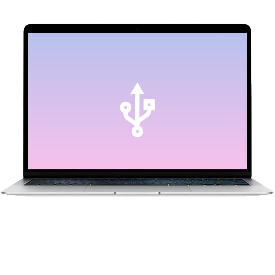 MacBook Air 13 - Ремонт usb