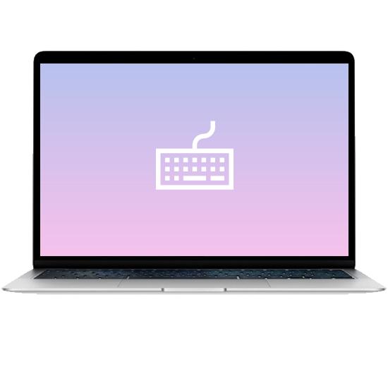 MacBook Air 13 - Замена клавиатуры