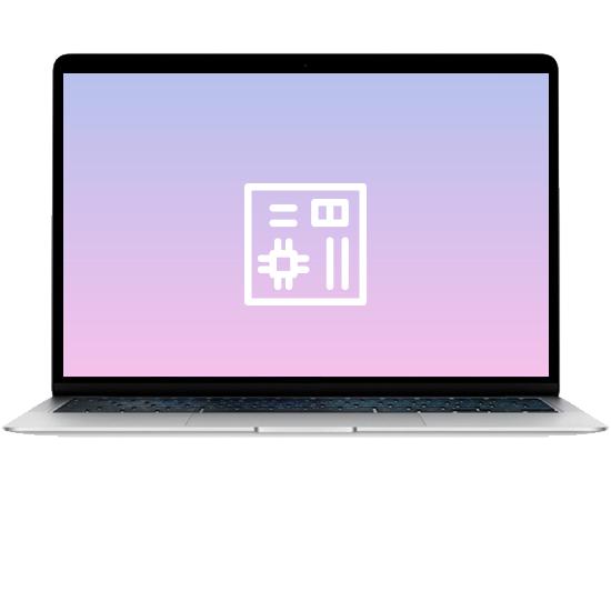 MacBook Air 13 - Замена материнской платы