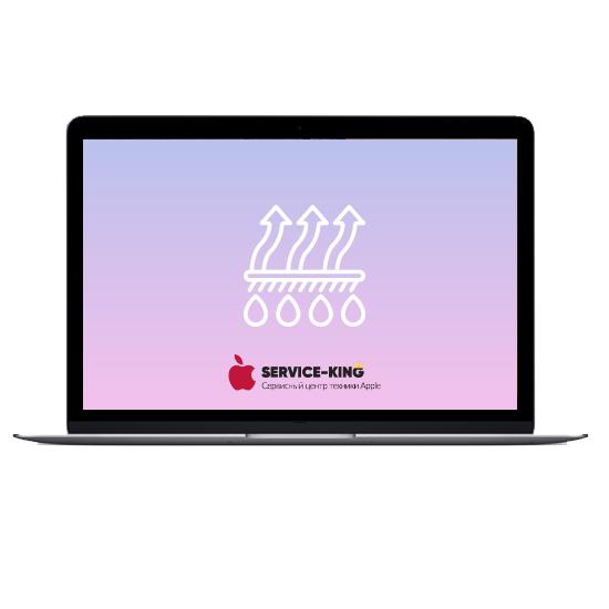 MacBook Retina 12 - Чистка от грязи и воды