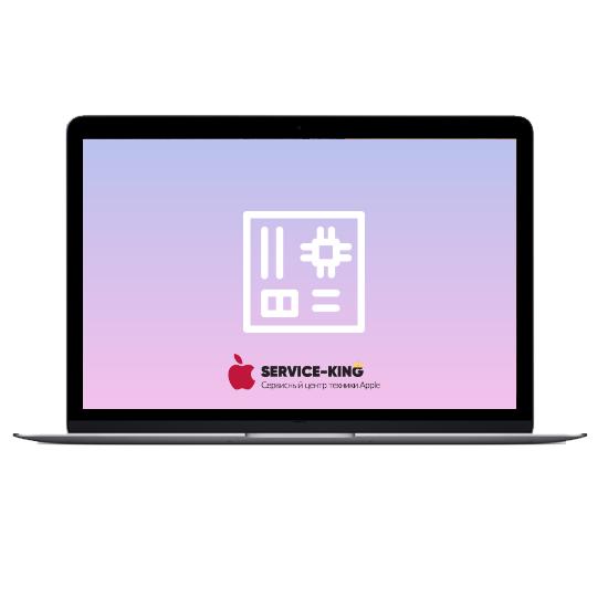 MacBook Retina 12 - Ремонт материнской платы